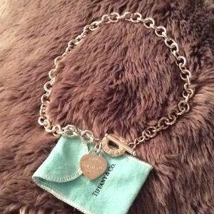 Return to Tiffany heart toggle necklace